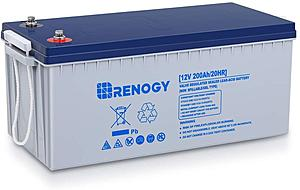 Click image for larger version.  Name:Renogy 12V 200AH Rechargeable Deep Cycle AGM.jpg Views:5 Size:45.1 KB ID:30707